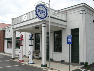 Old Pure Gas Station