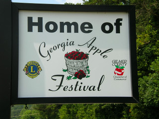 Apple Festival sign