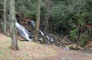 "Barnes Creek Waterfall 4705"" height="