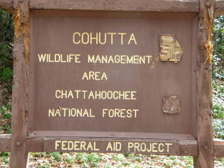 Cohutta Management Sign #1