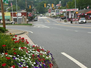 McCaysville entrance