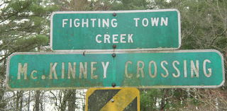 McKinny Crossing Sign